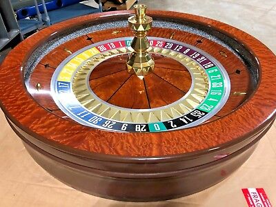 32 Inch Roulette Wheel (Used) #12408   0/00