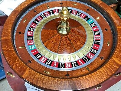 32 Inch Roulette Wheel (Used) #12047   0/00