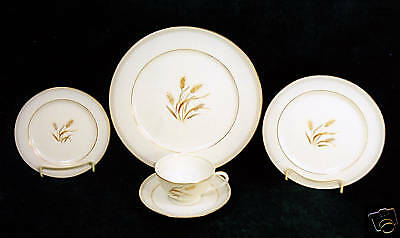 "92-Pieces (Or Less) Of Sango ""harvest Gold"" Pat Fine China"