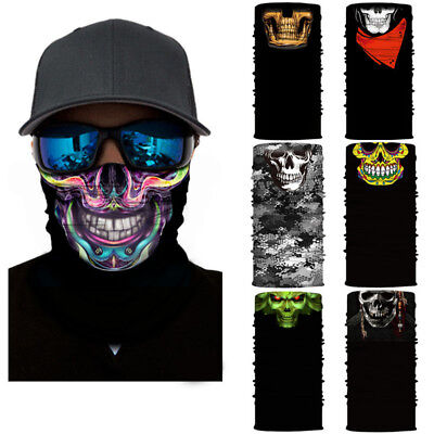 New Multi Colors Tube Scarf Bandana Head Face Mask Neck Gaiter Snood Headwear