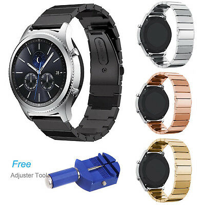 ZJ Link Stainless Steel Bracelet Strap Band For Samsung Gear S3 Frontier Classic