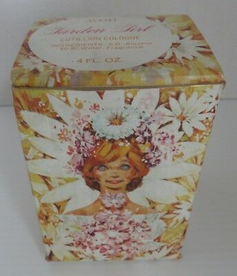 Vintage Avon Garden Girl Figure With Box                      (Inv14939)