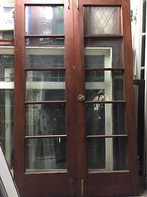 "79x24""ea 48""total Open Spanish  Mediterranean French Doors Poet Rod McKuen"