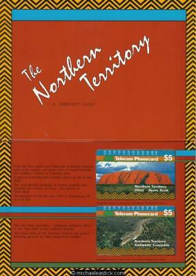 Collector Folder 1991 Northern Territory Telecom Phonecard Limited Edition