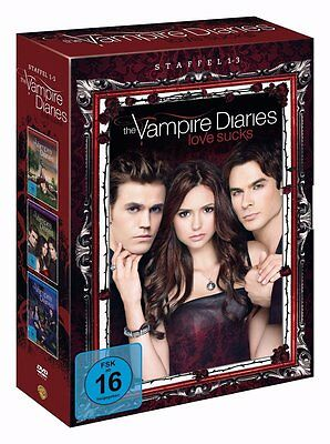 THE VAMPIRE DIARIES completare STAGIONE 1 2 3 Serie TV 17 Box DVD Collection
