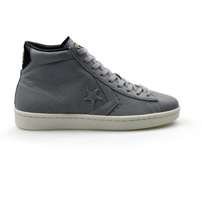Converse PL-76 John Harvard Pro Leather Mid Grey Mens Trainers New 157694C