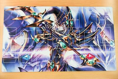 F2323+ Free Mat Bag Yugioh Dark Magician Trading Card Game Playmat With Zones