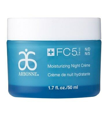 Arbonne FC5 Moisturising Night Cream New in Box for Normal Dry Skin