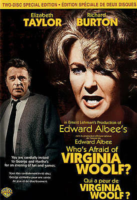 Whos Afraid of Virginia Woolf (DVD, Canadian Special Edition) Brand New