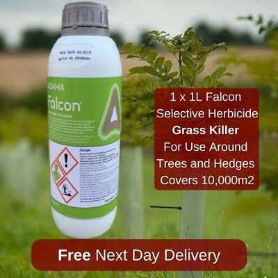 Falcon 1L Grass Weed Killer Safe Around Trees And Hedges
