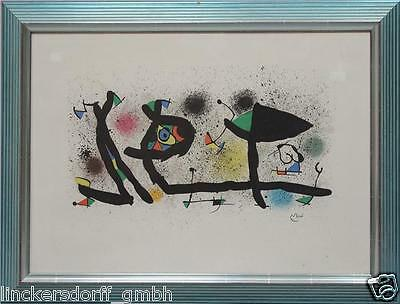 Miró, Joan - Farblithographie / Rives