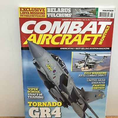 Combat Aircraft Monthly - Volume 13, No 1. January  2012