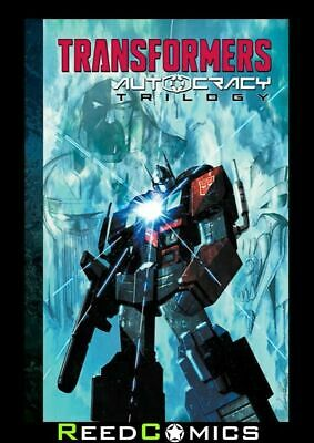 TRANSFORMERS AUTOCRACY TRILOGY GRAPHIC NOVEL (336 Pages) New Paperback