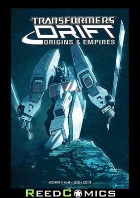 TRANSFORMERS DRIFT ORIGINS AND EMPIRES GRAPHIC NOVEL (220 Pages) New Paperback