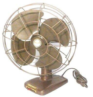 "WORKING but Less-Than-Perfect KENMORE 3 SPEED OSCILLATING 12"" FAN # 336.80901"