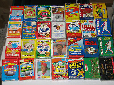 Lot of 41 Complete Sets - Topps, Fleer, Traded, Box, Lot 1970s 1980s 1990s