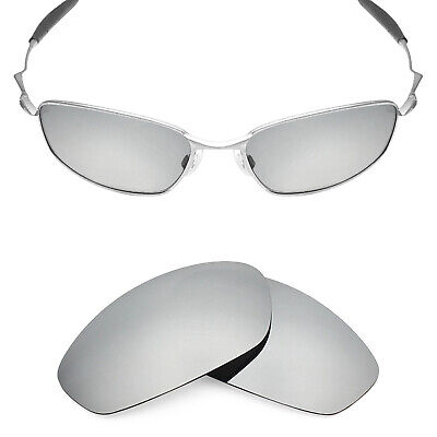 96a709732968 MRY POLARIZED Replacement Lenses for-Oakley Whisker Sunglasses Silver  Titanium