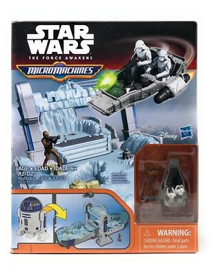 Star Wars The Force Awakens Micro Machines R2-D2 R2 D2 Playset