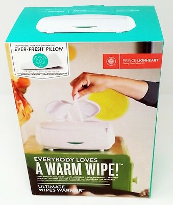 Prince Lionheart baby wipe warmer, cleaning wipes heating unit,