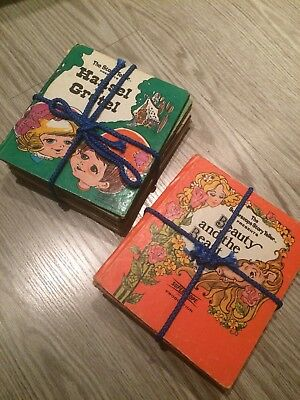 Lot of 16 SUPERSCOPE STORY TELLER Vintage Child's Books The Wizard of Oz & More