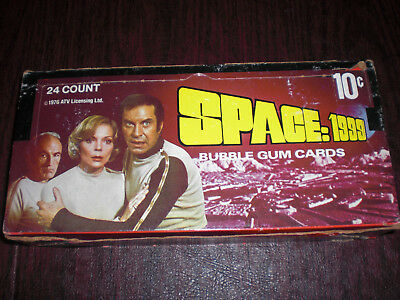 1976 Wax Box Of Space: 1999 - Donruss - New Complete - 24 Count Box - Vintage!