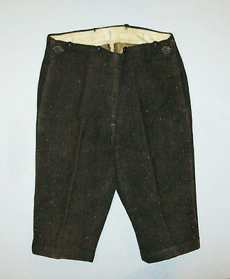 Antique Vtg 1870s Boys Wool Suit Knickers Pants Very Nice Size 3T Tailor Made