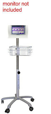 Rolling stand for Nonin Lifesense RespSense   Patient Monitor  (small wheel )