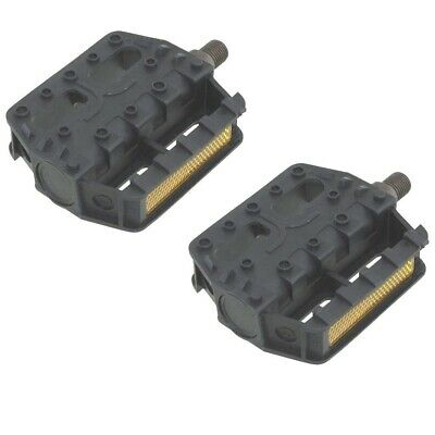 """New Bicycle VP-Style Alloy Pedals 9//16/"""" Orange 204-194"""