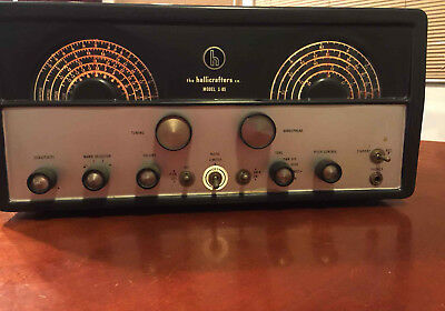 Vintage HALLICRAFTERS S-85 SHORTWAVE HAM TUBE TYPE RADIO FOUR BAND RECEIVER