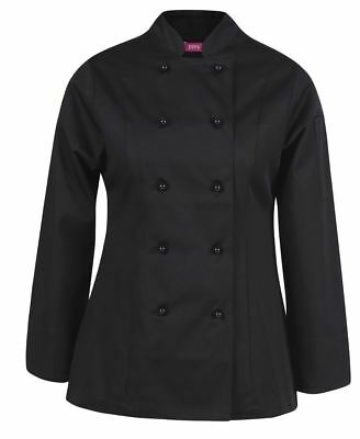 JB's Wear Ladies Long Sleeve Classic fit Mandarin Collar Vented Chef's Jacket