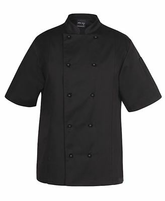 JB's Mandarin Collar Vented Chef's Jacket with Underarm Mesh Fabric + Side Vents