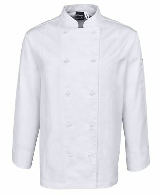 JB's Vented Chef's Long Sleeve Double Breasted Jacket Uniform traditional style