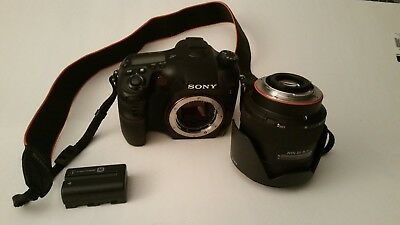 Sony Alpha SLT-A77 24.3MP Digital SLR Camera - GREAT CONDITION READ DESCRIPTION