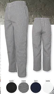 JB's Wear Elasticated Chef's Pants W/ Hidden coin pocket and key loop drawcord