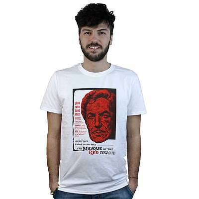 New Black The Masque Of The Red Death T-Shirt Vincent Price Horror Poe Tee