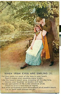POSTCARD SONGS When Irish Eyes are Smiling (3)