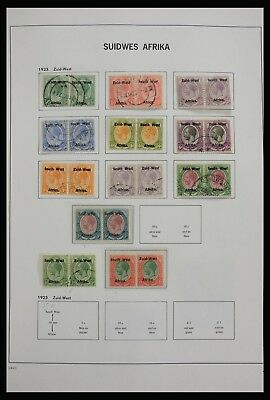 Lot 27930 Collection stamps of South West Africa 1923-2000.