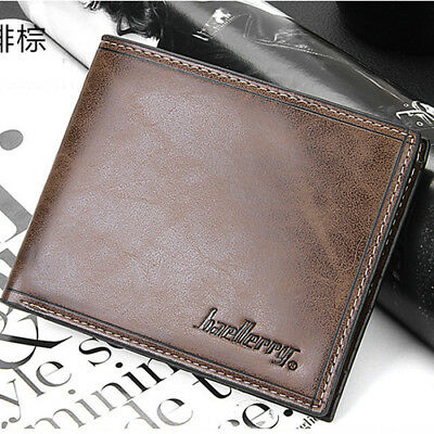 Korean retro Ultrathin Men wallet thread vintage leather male purse student coin