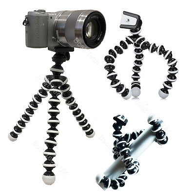 Camera Cam DSLR SLR Flexible Tripod Gorilla Octopus Mount Stand Holder Universal