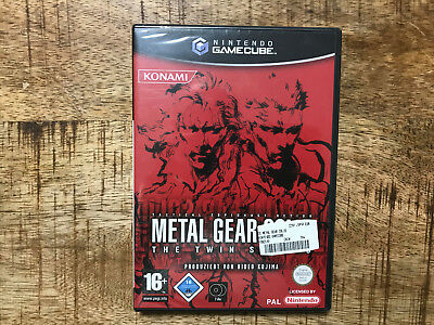 Metal Gear Solid Twin Snakes - Nintendo Gamecube - OVP/CIB/Boxed -NEU/NEW/SEALED