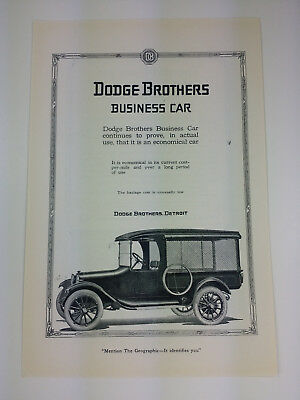 1919 Dodge Brothers Cars or Victor Victrola Magazine Print Ad Advertisement