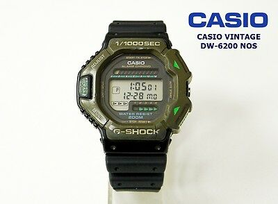 9aa36d057b1 Casio Vintage Collection Dw-6200 G-Shock Made Japan