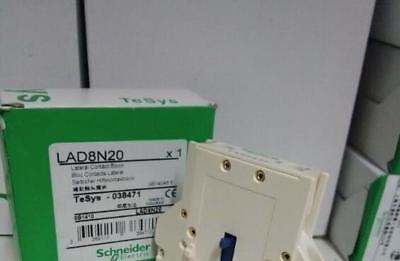 1pcs Schneider Auxiliary Contact Block LAD8N20 LA-D8N20  New