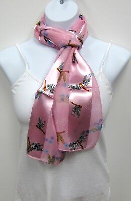 Wholesale Scarf Lot 6 PC Dragonfly Print Scarves Assorted Colors