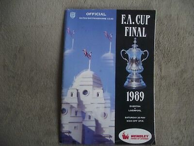 1988-89 CUP FINAL - Everton v Liverpool