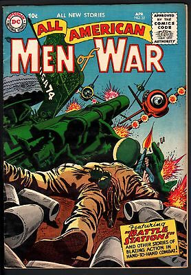 All American Men Of War #32-1956-Wwii-Dc-Silver Age-High Grade