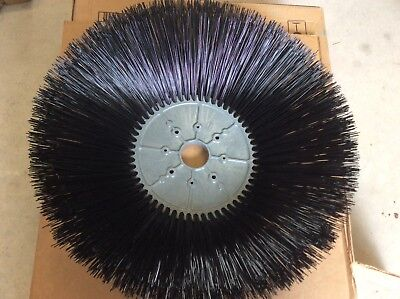 """Tennant 1/4"""" Poly Sweeper Side Broom Disk Sweep Brush – 26 in / 660 mm /Fits S30"""