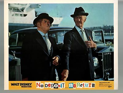 No Deposit, No Return-David Niven-11x14-Color-Lobby Card-Disney