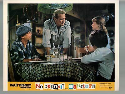 No Deposit, No Return-Darren McGavin-11x14-Color-Lobby Card-Disney