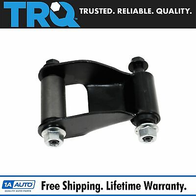 Rear Leaf Spring Hanger Shackle Bracket Pair Set For Chevy Silverado GMC Sierra